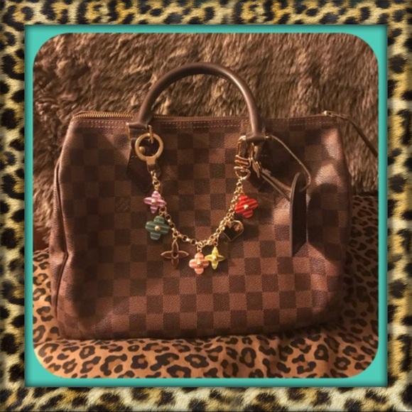 Louis Vuitton Handbags - AUTHENTIC Louis Vuitton Damier Ebene Speedy 30